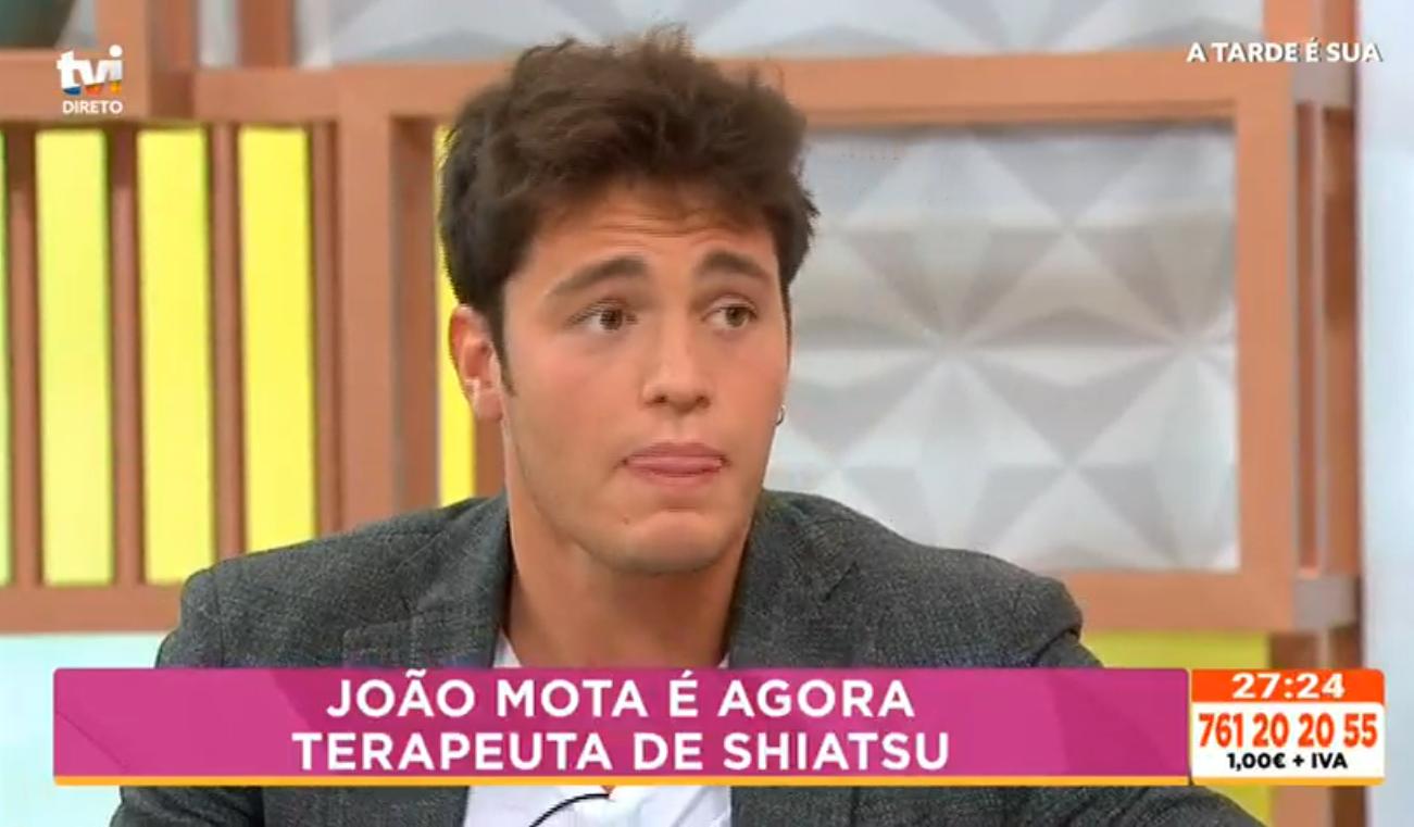 """o João Mota fala sobre a sua nova vida: """"Sinto-me mesmo realizado"""""""