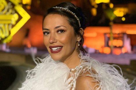Sofiaribeiro E1574333187535 Sofia Ribeiro Arrasa Com Vestido De João Rôlo Na Arábia Saudita