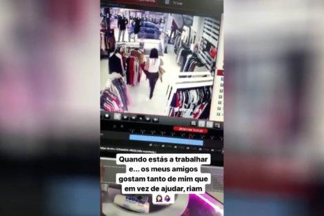 Tatiana Boa Nova Queda Tatiana Boa Nova Dá Queda Na Loja E Fica Gravado Em Vídeo