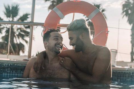 tiago rufino luan tiofilo Tiago Rufino e Luan Tiófilo mostram-se na cama e em clima de grande intimidade