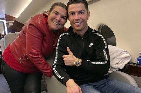 Dolores Aveiro Cristiano Ronaldo Dolores Aveiro Manda Mensagem Aos Fãs Após Sofrer Avc