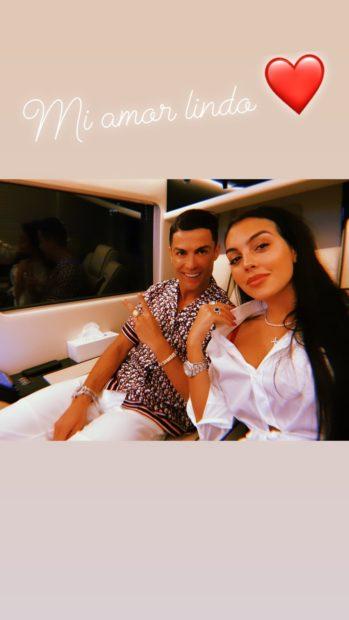 Georgina Rodriguez Cristiano Ronaldo No Dubai, Georgina Rodríguez Declara-Se A Cristiano Ronaldo