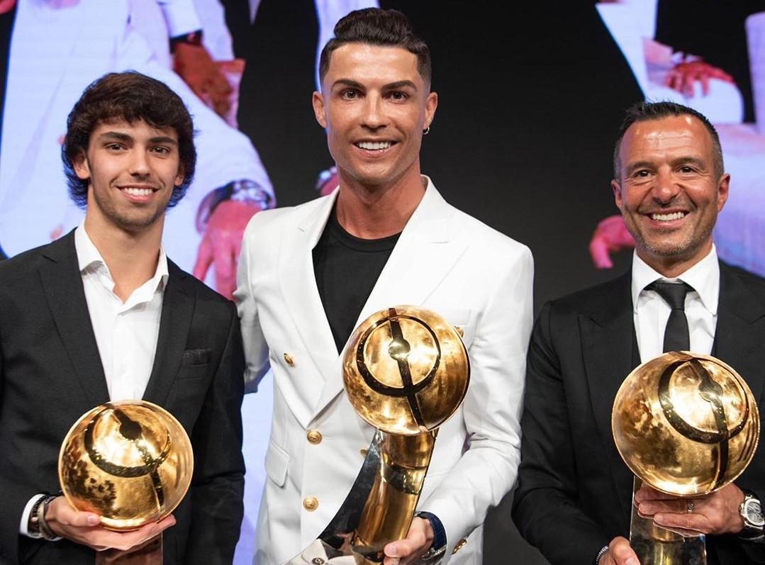 Jorge Mendes Ronaldo E João Félix Imita Ronaldo! Comprou Mansão Portuguesa Perto Do Colega De Profissão