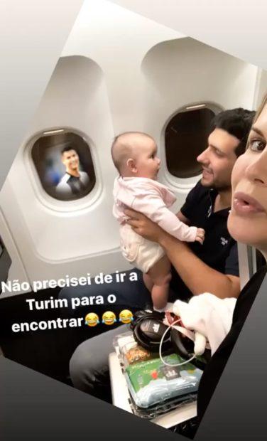 Katia Aveiro Cristiano Ronaldo Aviao Katia Aveiro &Quot;Encontra&Quot; Cristiano Ronaldo No Avião