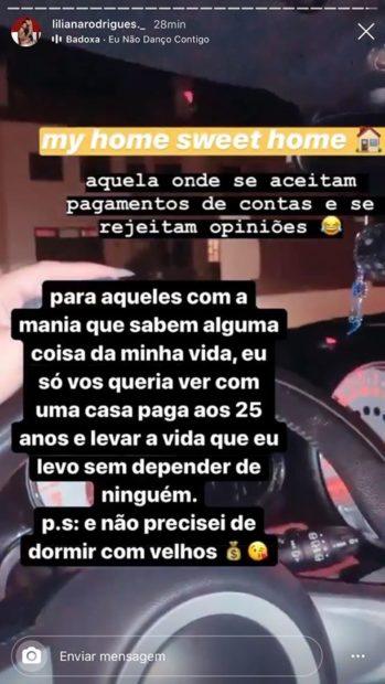 Liliana Rodrigues Farpa Liliana Rodrigues Manda 'Farpa' A Margarida Aranha? &Quot;Não Precisei De Dormir Com Velhos [Por Dinheiro]&Quot;
