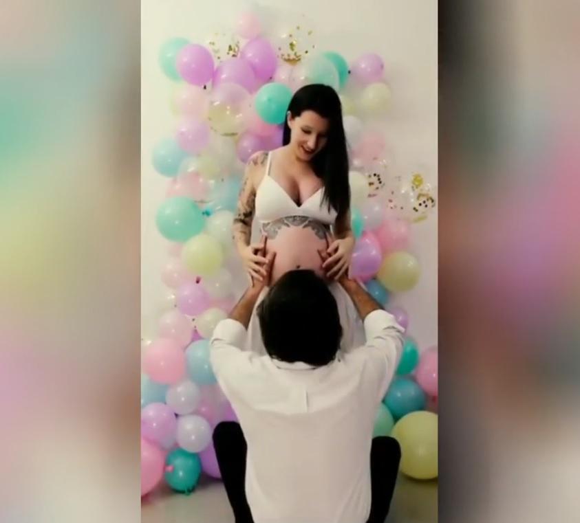 Tatiana Valerio Companheiro Namorado Gravidez Grávida, Tatiana Valério Revela Identidade Do Pai Da Menina