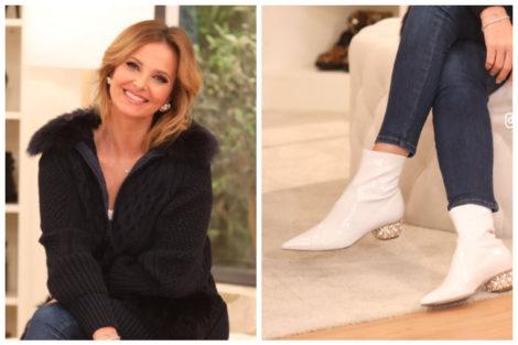 CRISTINA FERREIRA BOTAS Cristina Ferreira usa botas de 1.080 euros