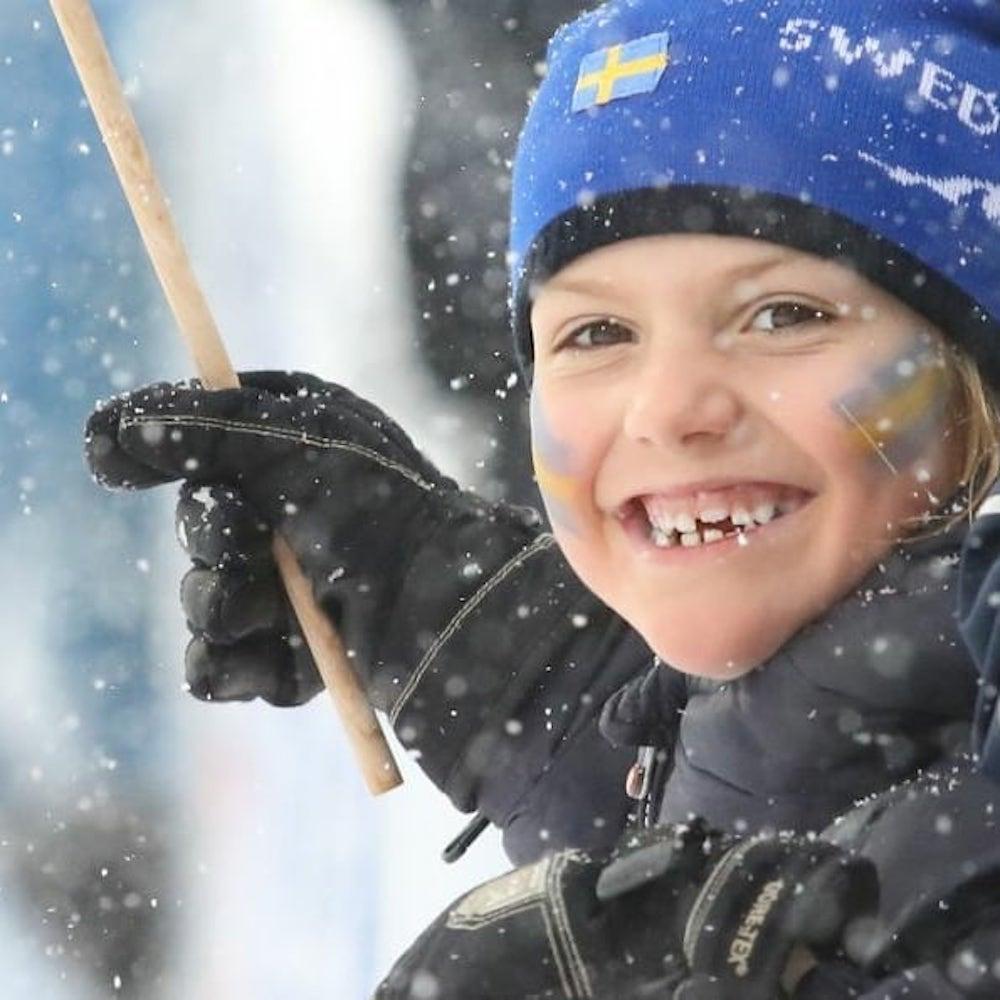 Princesa Estelle Princesa Estelle Sofre Acidente Na Neve