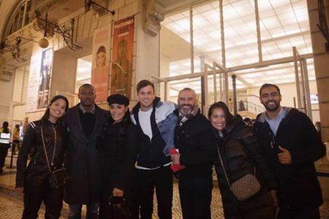 Rui Unas David Carreira Carmen Mouro Famosos Assistem A Concerto De Madonna No Coliseu De Lisboa