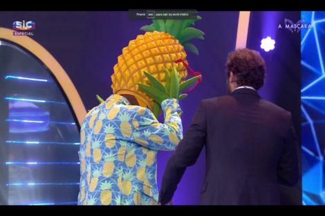 A Mascara Ananas 1 A Máscara. Revelada A Identidade Do Ananás