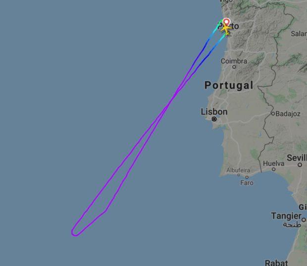 Aviao Piloto Desmaia Porto Piloto Desmaia Durante Voo Porto-Funchal E Co-Piloto Obrigado A Regressar Ao Porto