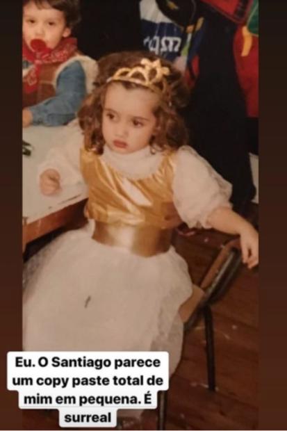 Carolina Em Criança Carolina Deslandes Revela Fotografia Inédita Da Infância