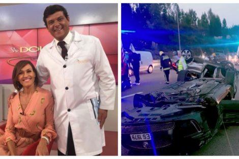 Fatima Lopes Joao Espirito Santo Médico Do Programa De Fátima Lopes Sofre Grave Acidente De Viação: &Quot;Entre A Vida E A Morte&Quot;