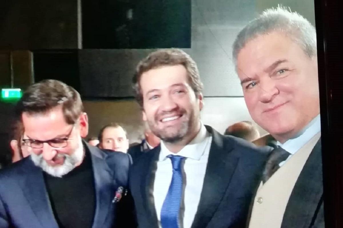 jose luis andre ventura Casados à Primeira Vista! José Luís une-se ao líder do Chega André Ventura