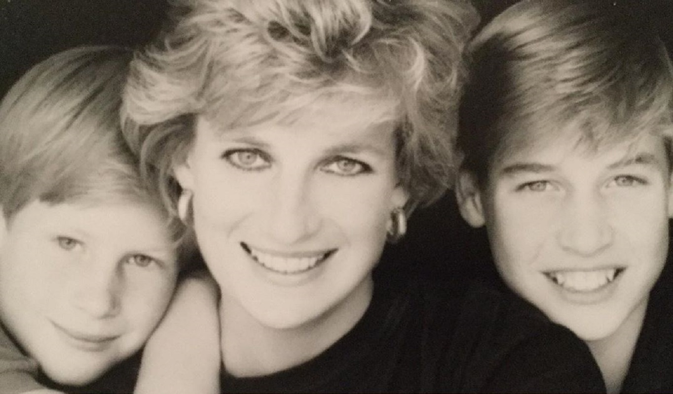 Princesa Diana William Harry