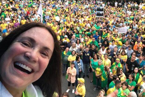 Regina Duarte E1579642410910 Regina Duarte Poderá Afastar-Se Das Novelas Para Integrar Governo De Bolsonaro