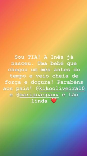 Tania Ribas Oliveira Tia E1578089292653 Tânia Ribas De Oliveira Anuncia Novo Membro Na Família: &Quot;É Tão Linda&Quot;