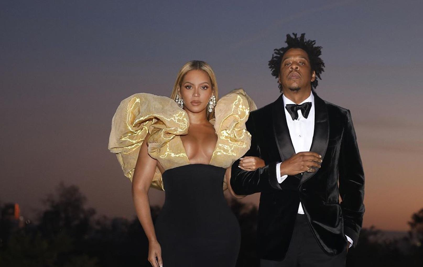 Beyonce Jay Z A Fotografia Nunca Antes Vista Do Casamento Secreto De Beyonce E Jay-Z
