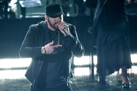 Eminem Cerimónia Dos Óscares Marcada Por Momento Insólito De Scorsese