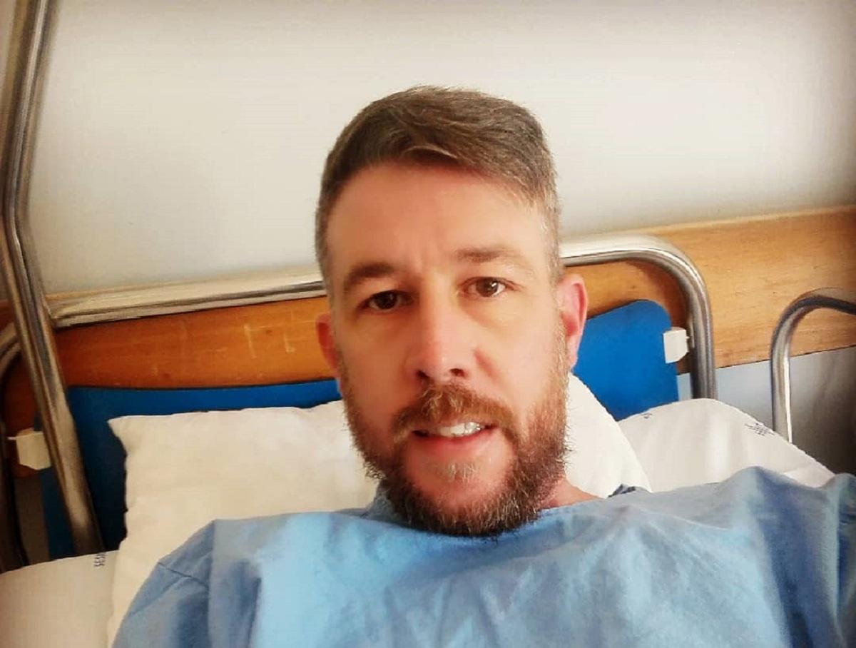 Claudio Mendes Cláudio Mendes De Regresso Ao Hospital Para Uma Nova Cirurgia