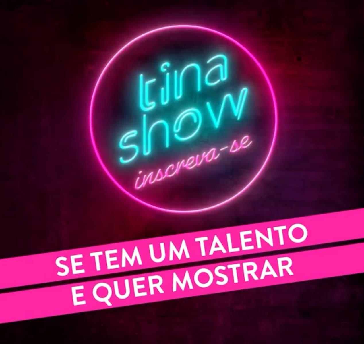 cristina ferreira tina show Tina Show. Cristina Ferreira lança concurso de talentos