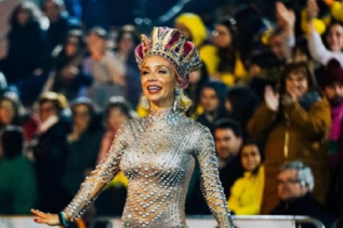 Luciana Abreu 3 Luciana Abreu Desfila Doente No Carnaval Da Mealhada