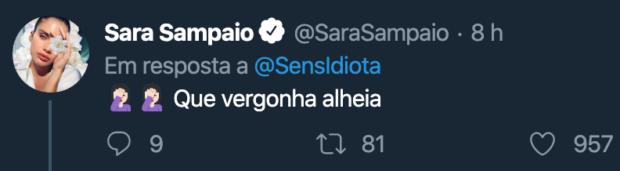 Sara Sara Sampaio Não Poupa Cristina Ferreira Depois Da Gaffe: &Quot;Que Vergonha Alheia&Quot;