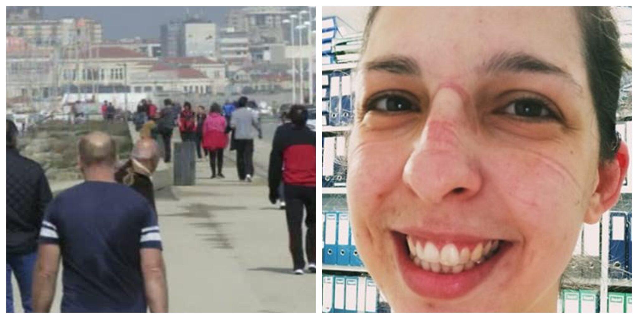 Befunky Collage Scaled Enfermeira Indignada Com Os Passeios Dos Portugueses Durante A Pandemia