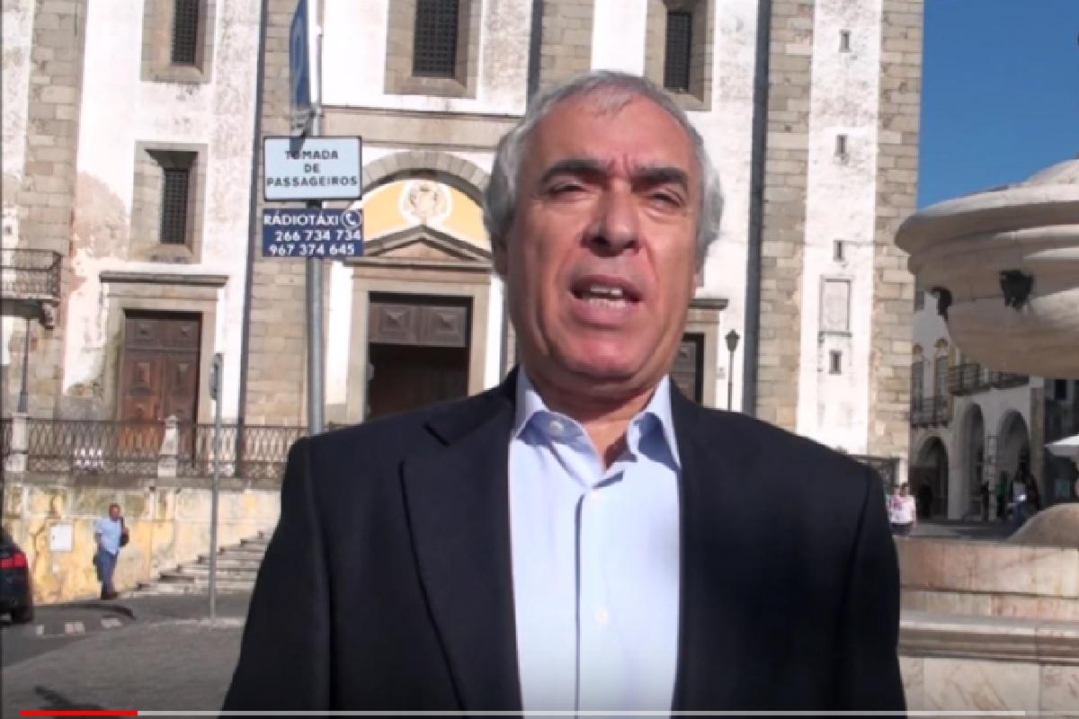 """Carlos Pinto De Sa Presidente Cm Evora Covid-19. Presidente Câmara De Évora Afirma: """"Desinfetar Ruas É Deitar Dinheiro Ao Lixo"""""""