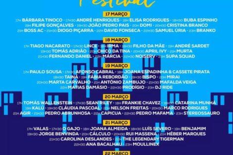 FestivalEuFicoEmCasa #FestivalEuFicoEmCasa: Artistas portugueses vão dar 78 concertos online