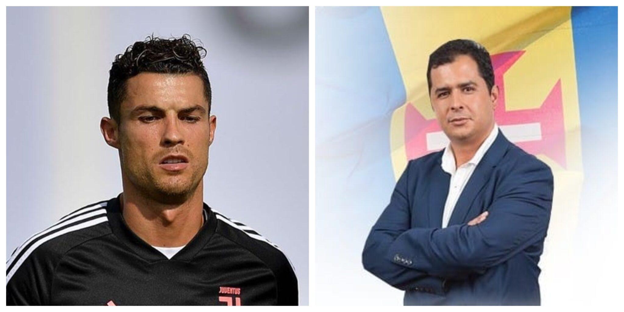 """cristiano ronaldo Rafaelmacedo scaled Cristiano Ronaldo é chamado de """"vagabundo"""" e """"animal"""" por político e Elma Aveiro revolta-se"""