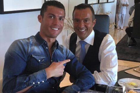 cristiano ronaldo jorge mendes Cristiano Ronaldo e Jorge Mendes fazem doação milionária a hospital do Porto