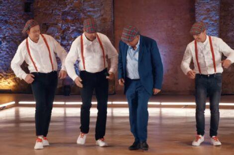Feel It Kotas Manuel Moura Dos Santos Got Talent Surpresa No Got Talent! Concorrentes Põem Moura Dos Santos A Dançar O Fandango