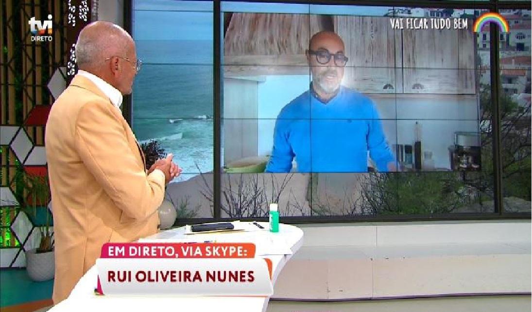 Goucha Rui Manuel Luís Goucha Faz Cena De Ciúmes Em Direto: &Quot;Afinal Vou Aí Este Fim-De-Semana&Quot;