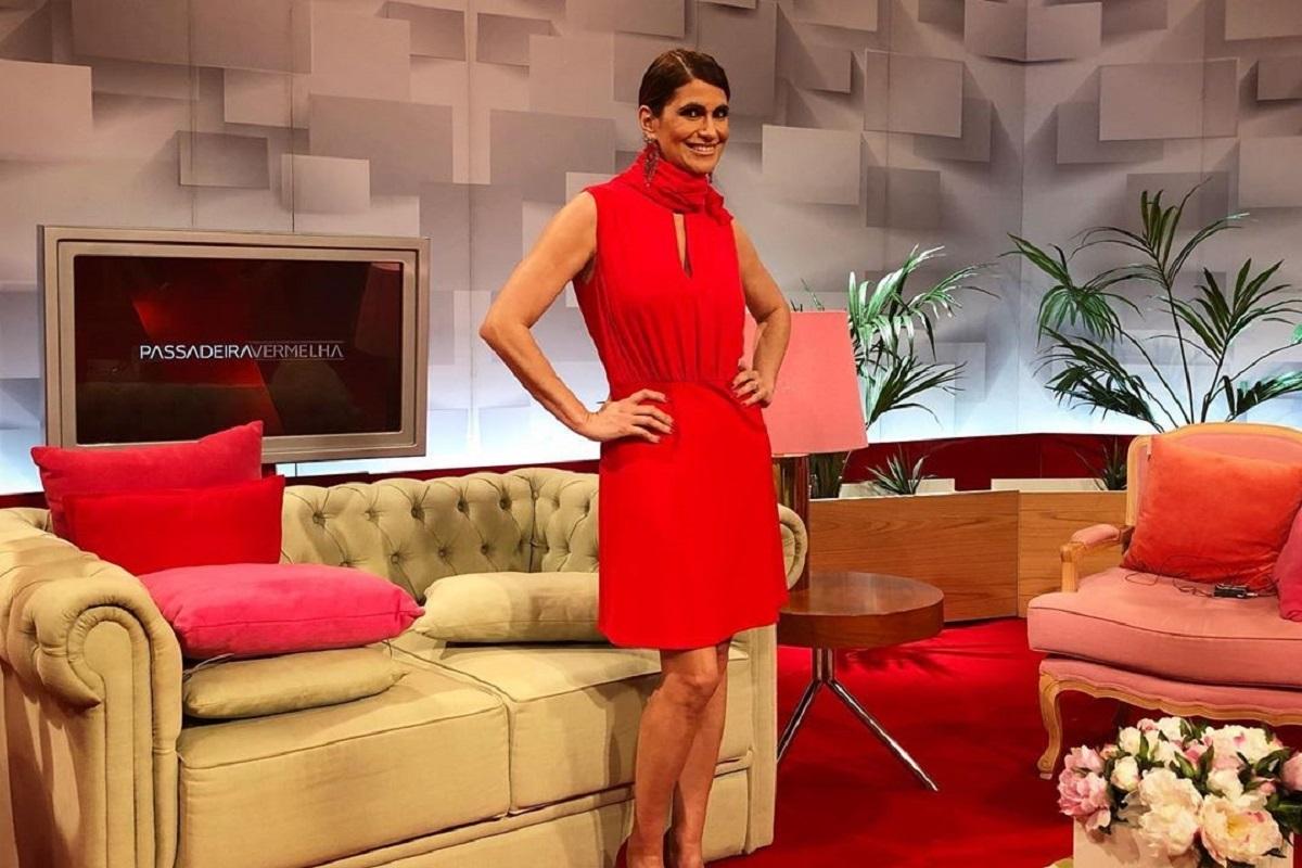 """Passadeira Vermelha Liliana Campos 1 Liliana Campos Esclarece Fãs: """"Não Conseguia Rir E Tinha Alguma Dificuldade Em Falar"""""""