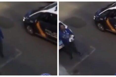 Passearcaopeluche Vídeo: Homem É Apanhado Pela Polícia Na Rua A Passear Cão De Peluche