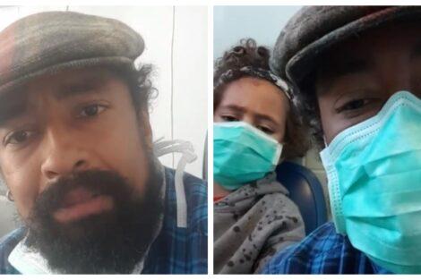 Sabri Lucas Suspeito De Estar Infetado Com Covid-19, Sabri Lucas Dá Novidades Sobre Estado De Saúde Do Filho