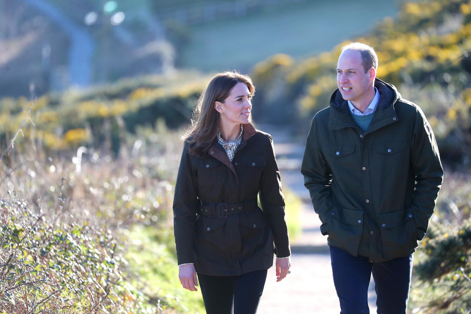 William Kate Middleton 4 Revelada Fotografia Inédita Do Príncipe William Com Os Filhos, Tirada Por Kate Middleton