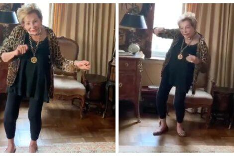 Betty Grafstein José Castelo Branco Mostra Betty A Dançar Aos 92 Anos: &Quot;Mexe-Se Mais Que Muita Malta!&Quot;
