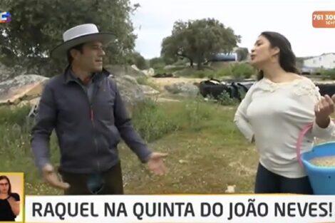 """João Neves Raquel Tavares Agricultor João Neves Fala Sobre Fim Da Relação Com Isabel: """"Não Resultou Como Eu Queria"""""""