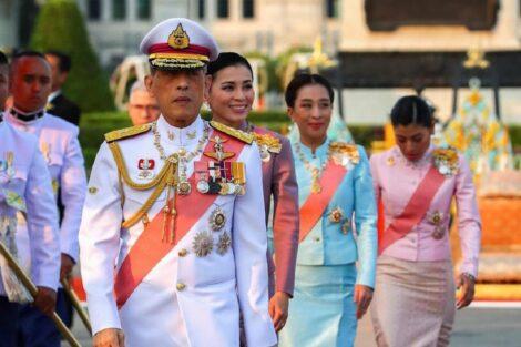 Rei Da Tailandia 1 Covid-19: Rei Da Tailândia Cumpre Quarentena Em Hotel De Luxo Com As Suas 20 Mulheres