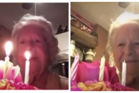 Avo Aniversariosozinha Avó Celebra 88.º Aniversário Sozinha E Vídeo Torna-Se Viral: &Quot;Foi A Coisa Mais Fofa Que Vi&Quot;