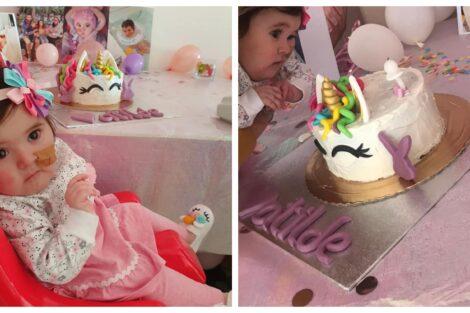 Bebe Matilde Bebé Matilde Celebra O Seu 1.º Aniversário E Pais Partilham Fotografias Da Festinha