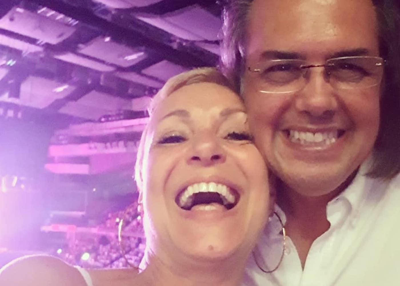 Carla Andrino Mario Carla Andrino Partilha Fotografia Inédita Da Sua Adolescência Com O Marido