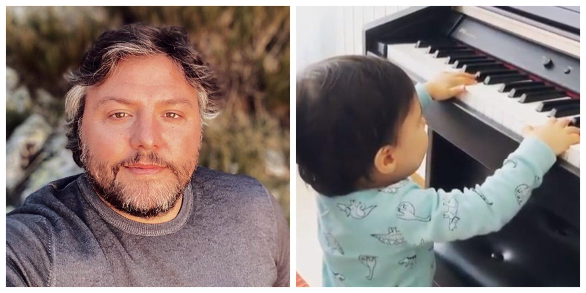 Cesar Mourao E Filho Scaled César Mourão Partilha Vídeo Do Filho A Tocar Piano E Fãs Reagem: &Quot;Temos Artista&Quot;