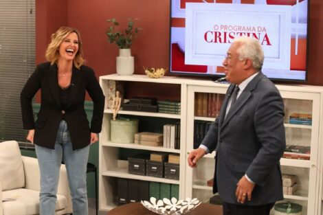 """cristina ferreira antónio costa Cristina Ferreira diz que tentou """"levar a voz de todos"""" na entrevista a António Costa"""