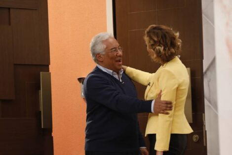 cristina ferreira antonio costa Cristina Ferreira obrigada a defender-se por levar António Costa ao 'Programa'