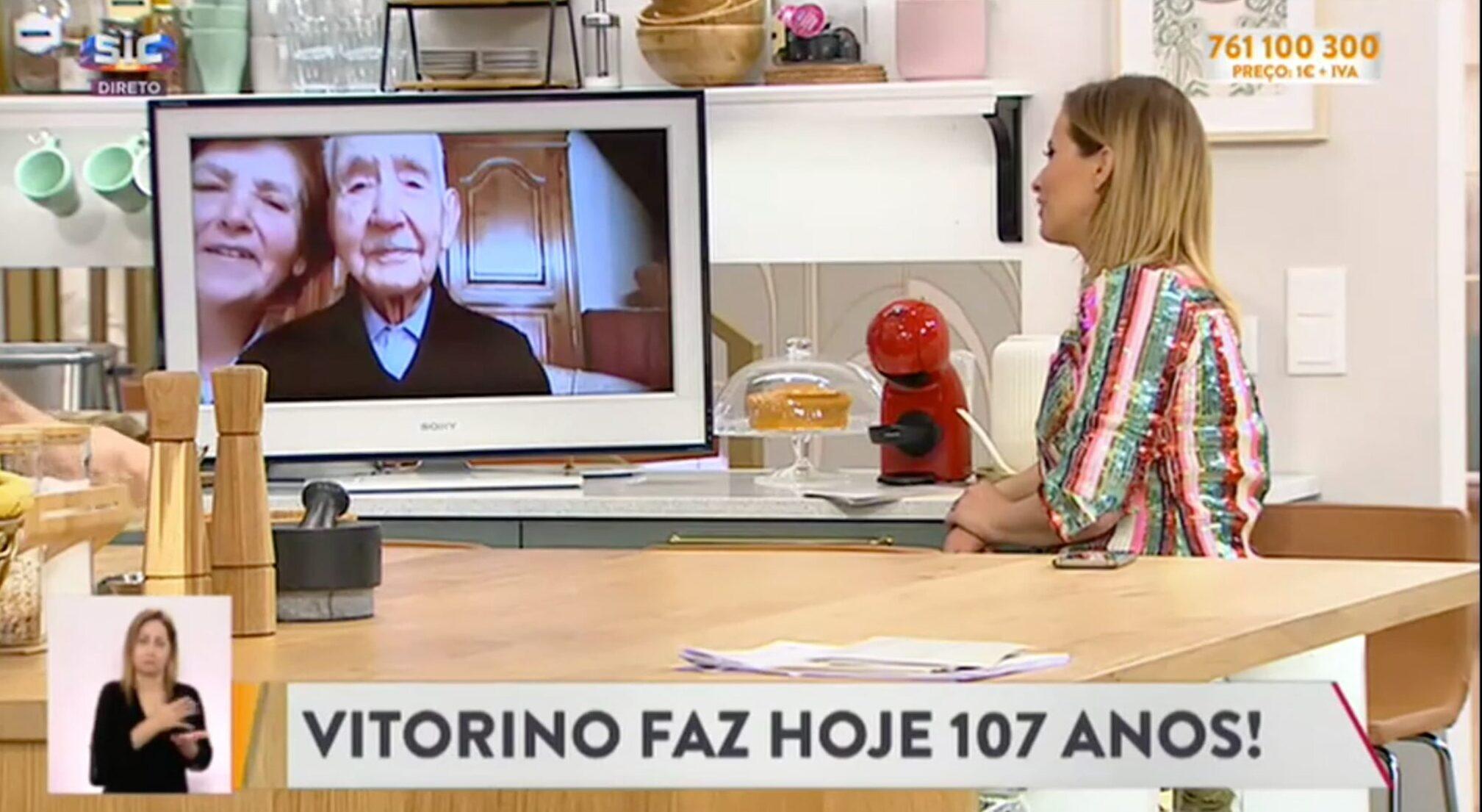 Cristina Ferreira Senhor Vitorino 107 Anos Scaled E1586209184893 Senhor Vitorino De 107 Anos Conquista Coração De Cristina Ferreira