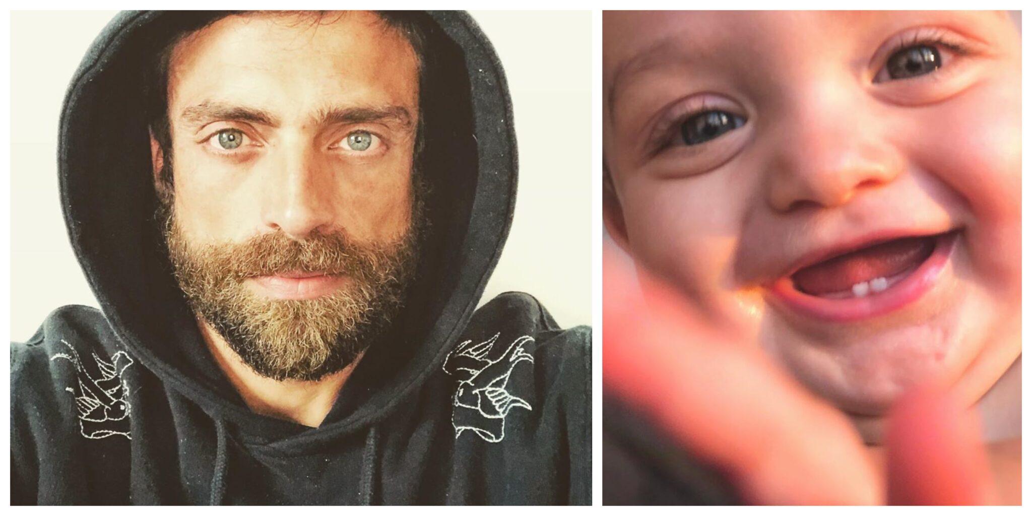Diogo Amaral Oliver 2 Scaled A Fotografia Que Mostra Os Primeiros Dentes Do Filho De Jessica Athayde E Diogo Amaral
