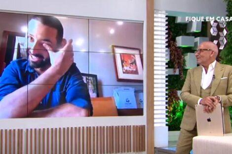 Enfermeiro Pedro Voce Na Tv Manuel Luis Goucha Mãe De Enfermeiro Da Linha Da Frente Emociona O País No 'Você Na Tv'